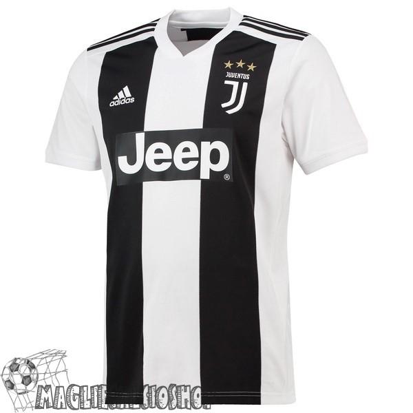 c9ad05559548db Maglie Calcio Poco Prezzo adidas Thailandia Home Maglia Juventus 18-19  Bianco Nero
